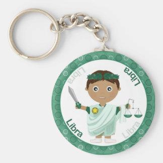Libra Boy Character Keychain