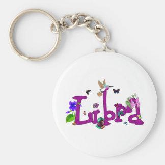 Libra Flowers Key Ring