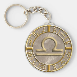 Libra Key Ring