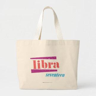 Libra LtPink Large Tote Bag