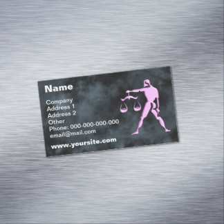 Libra Magnetic Business Card