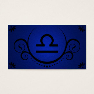 libra sophistications business card