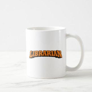 Librarian (Orange) Coffee Mug