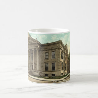 Library, Binghamton NY Vintage 1909 Coffee Mug