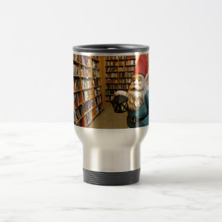Library Gnome I Travel Mug
