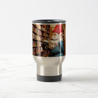 Library Gnome II Travel Mug