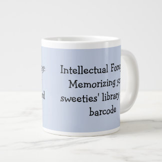 Library Humour Large Coffee Mug