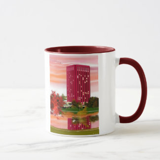 Library in Fall by Tam Nguyen Mug
