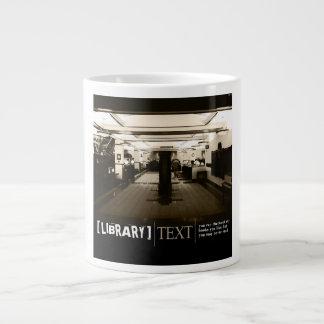 Library Large Coffee Mug