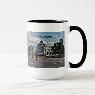 Library of Congress in Mosaic Pattern Mug