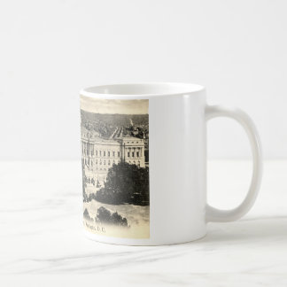 Library of Congress, Washington DC, 1912 Vintage Coffee Mug