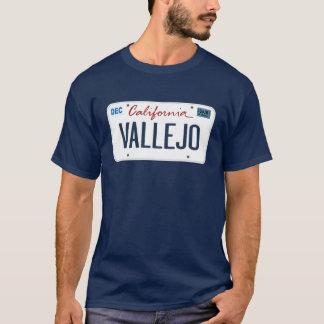 License Plate Vallejo California T Shirt