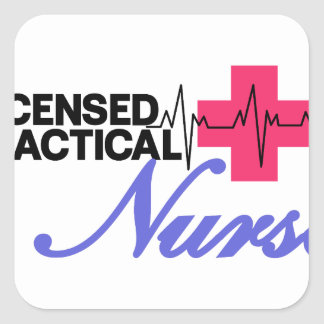 Licensed Practical Nurse Square Sticker