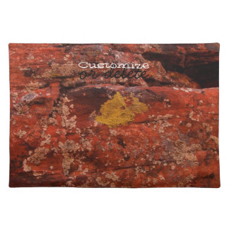 Lichen in the Desert; Customizable Placemat