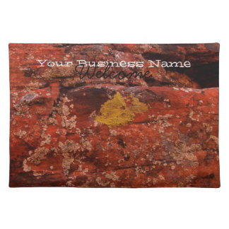 Lichen in the Desert; Promotional Placemat