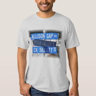 Lick Skillet, Poor Valley & Allison Gap Tee Shirt