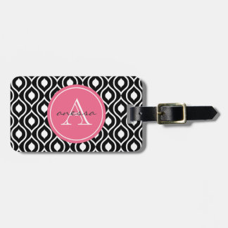 Licorice and Bubblegum Gail Print Luggage Tag