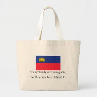 Liechtenstein Large Tote Bag