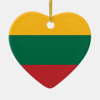 Lietuvos Valstybės Vėliava, Vytis, Lithuania Flag Christmas Ornament