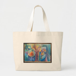Life 7, Water Stream Large Tote Bag