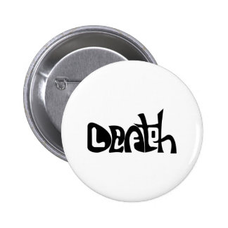 Life and Death 6 Cm Round Badge