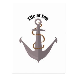 Life at Sea Postcard