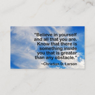 Motivational speaker business cards zazzle nz life coach blue sky motivational quote business card colourmoves