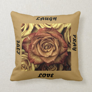Life Expressions Throw Pillow