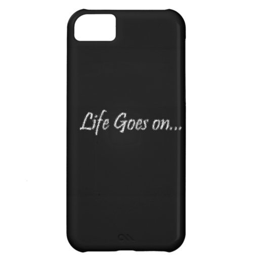 LIFE GOES ON iPhone 5C COVERS
