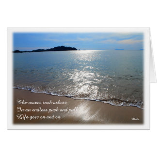 Life Goes On - Greeting Card