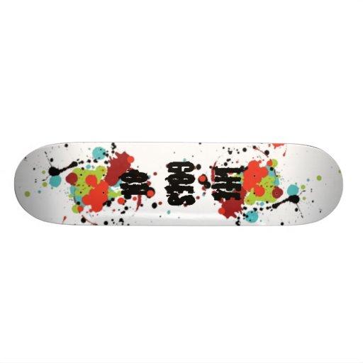 Life goes on. skateboard decks