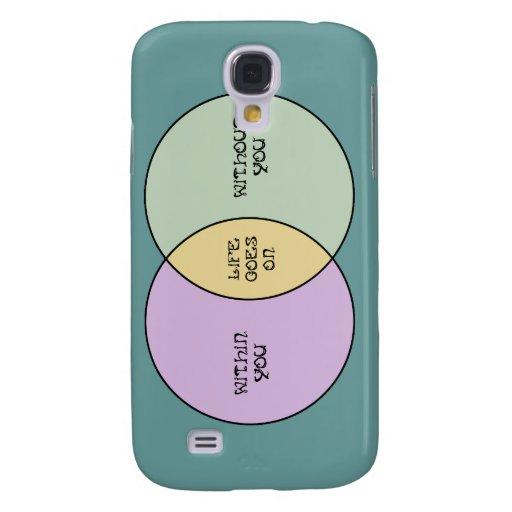 Life Goes On Venn Samsung Galaxy S4 Cases