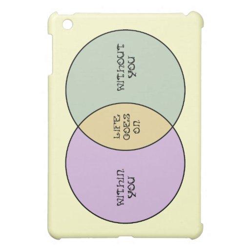 Life Goes On Venn iPad Mini Cover