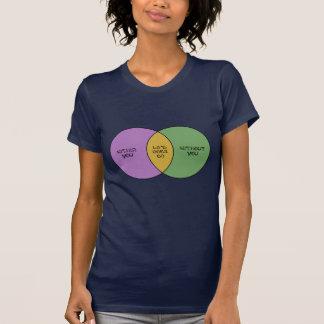 Life Goes On Venn T-shirts