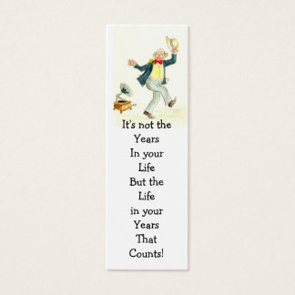 'Life in Your Years' Bookmark Mini Business Card
