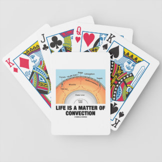 Life Is A Matter Of Convection (Earth Science) Poker Deck