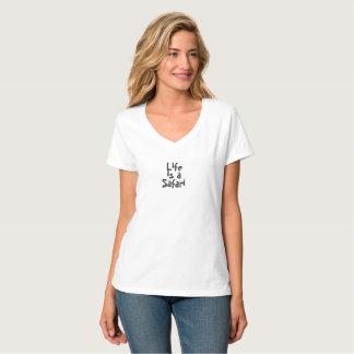Life is a Safari Womens' Light T-shirts