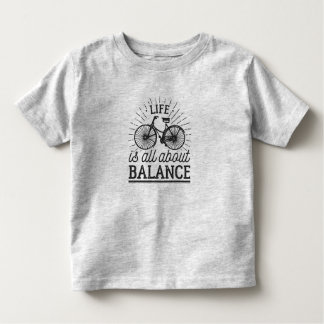 Life is all About Balance Quote | Shirt