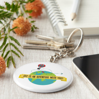 Life Is An Adventure With You Key Chain