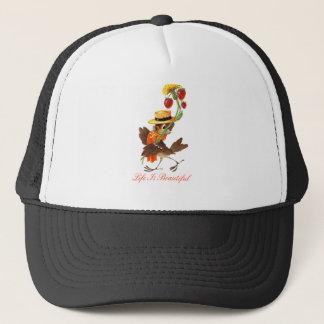 Life Is Beautiful Sparrow Trucker Hat