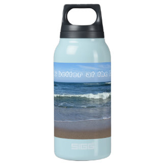 Life is better at the Beach Insulated Water Bottle