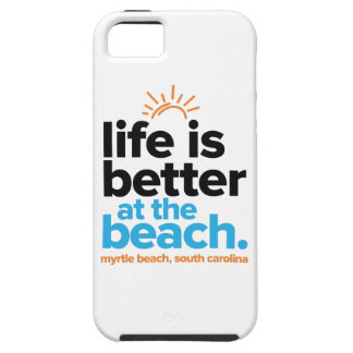 Life Is Better at the Beach. iPhone 5 Cover