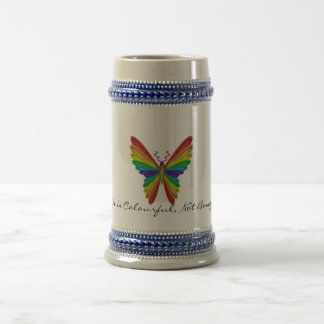 Life is Colourful, not Boring! Beer Stein