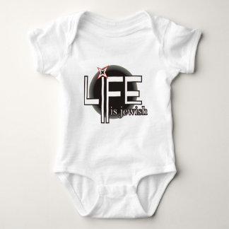 Life is Jewish Baby Bodysuit