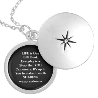 Life Is Like.. Quote Locket