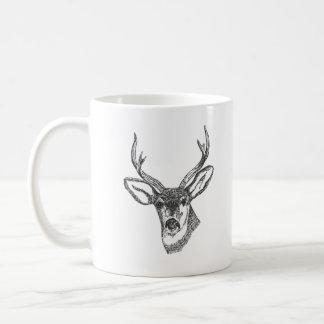 Life Is Simple Eat, Sleep, Hunt! Basic White Mug
