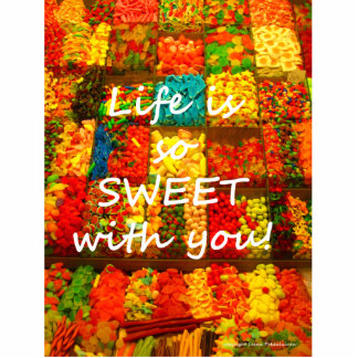 Life Is So Sweet With You Standing Photo Sculpture