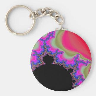 Life Basic Round Button Key Ring