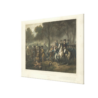 Life of George Washington The Soldier By Stearns Canvas Print