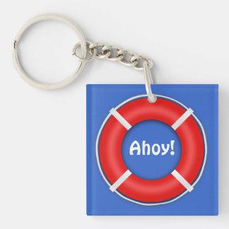 Life Ring Key Chain Acrylic Key Chains